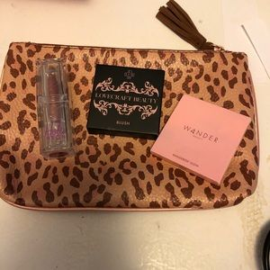 Ipsy bag and makeup